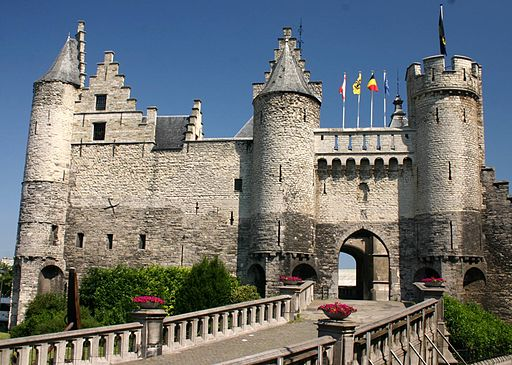 File:Steen - medival fortress in Antwerp.JPG